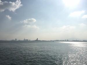 能古から福岡
